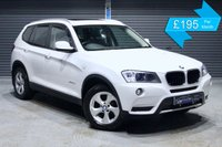 USED 2012 BMW X3 XDRIVE20D SE  ** SERVICE HISTORY, LEATHER INTERIOR, PARKING SENSORS **