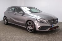 USED 2017 17 MERCEDES-BENZ A CLASS 2.0 A 250 AMG 5DR AUTO 215 BHP FULL SERVICE HISTORY + HEATED HALF LEATHER SEATS + SATELLITE NAVIGATION + REVERSE CAMERA + ACTIVE PARK ASSIST + BLUETOOTH + CRUISE CONTROL + CLIMATE CONTROL + MULTI FUNCTION WHEEL + XENON HEADLIGHTS + ELECTRIC WINDOWS + ELECTRIC/HEATED/FOLDING DOOR MIRRORS + 18 INCH ALLOY WHEELS