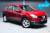 USED 2012 62 NISSAN QASHQAI 1.5 DCI ACENTA  ** PARKING SENSORS, ISOFIX POINTS, CRUISE CONTROL **