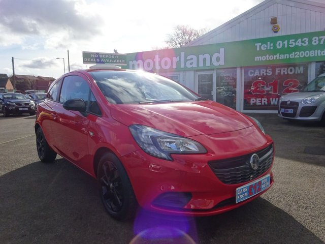 USED 2015 65 VAUXHALL CORSA 1.2 STING **  JUST ARRIVED ** CALL 01543 877320**