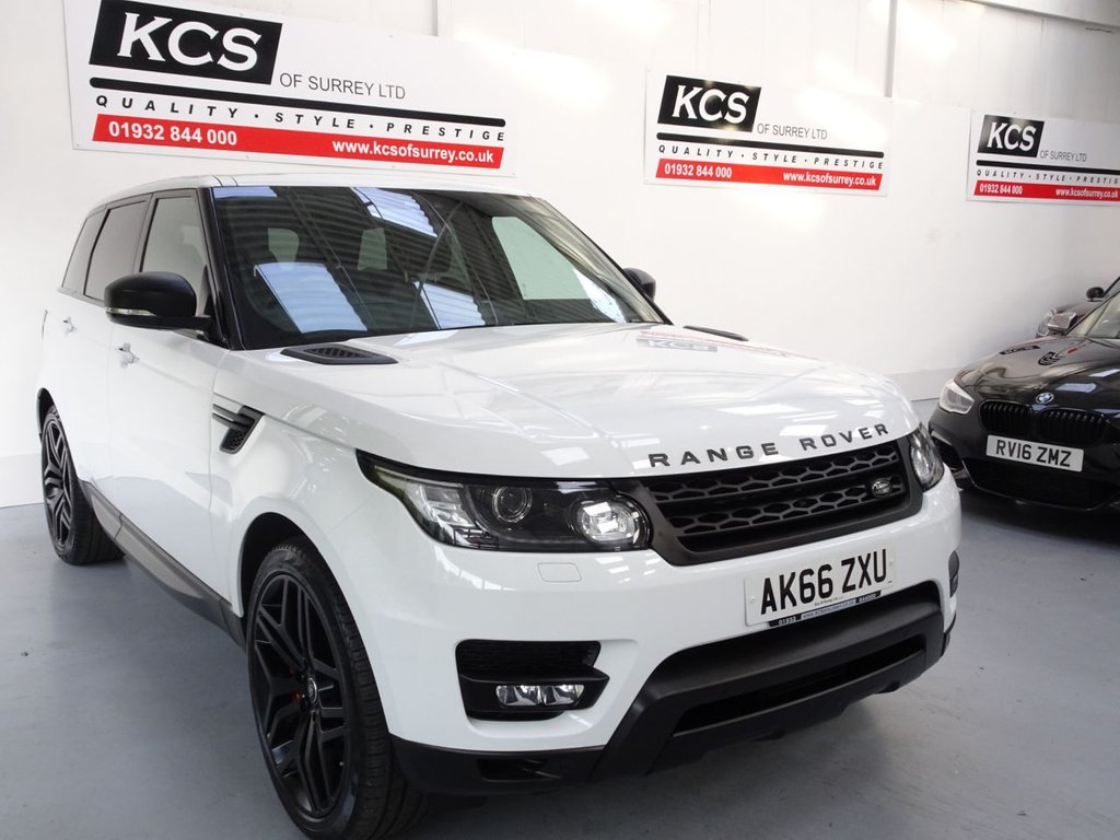 USED 2017 66 LAND ROVER RANGE ROVER SPORT 3.0 SDV6 HSE DYNAMIC 5d 306 BHP INTERACTIVE DRIVER DISPLAY