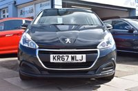 USED 2017 67 PEUGEOT 208 1.2 PURETECH ACTIVE 5d 82 BHP COMES WITH 6 MONTHS WARRANTY