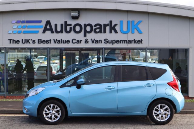 USED 2014 14 NISSAN NOTE 1.5 DCI ACENTA PREMIUM 5d 90 BHP LOW DEPOSIT OR NO DEPOSIT FINANCE AVAILABLE