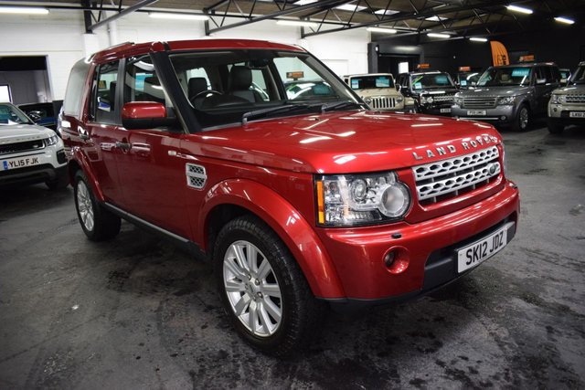 USED 2012 12 LAND ROVER DISCOVERY 4 3.0 4 SDV6 HSE 5d 255 BHP LOVELY CONDITION THROUGHOUT - HSE - ONE PREVIOUS KEEPER - S/H - LEATHER - NAV - HEATED SEATS - TRIPLE SUNROOFS - DETACHABLE TOWBAR