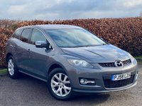 USED 2009 58 MAZDA CX-7 2.3 16V 5d SERVICE HISTORY * 12 MONTHS MOT * FULL HEATED LEATHER INTERIOR * FRONT AND REAR PARKING SENSORS