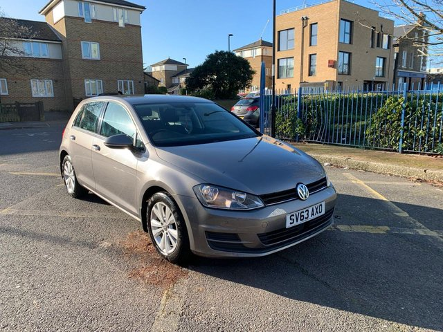 2013 63 VOLKSWAGEN GOLF 1.4 SE TSI BLUEMOTION TECHNOLOGY 5d 120 BHP