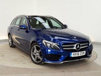 USED 2016 16 MERCEDES-BENZ C CLASS 2.1 C250 D AMG LINE PREMIUM PLUS 5DR AUTO RED HEATED LEATHER 1 OWNER 204 BHP FULL SERVICE HISTORY + HEATED LEATHER SEATS + PANORAMIC ROOF + SATELLITE NAVIGATION + REVERSE CAMERA + ACTIVE PARK ASSIST + BLUETOOTH + CRUISE CONTROL + CLIMATE CONTROL + MEMORY PACK + DAB RADIO + ELECTRIC WINDOWS + ELECTRIC/HEATED DOOR MIRRORS + 18 INCH ALLOY WHEELS