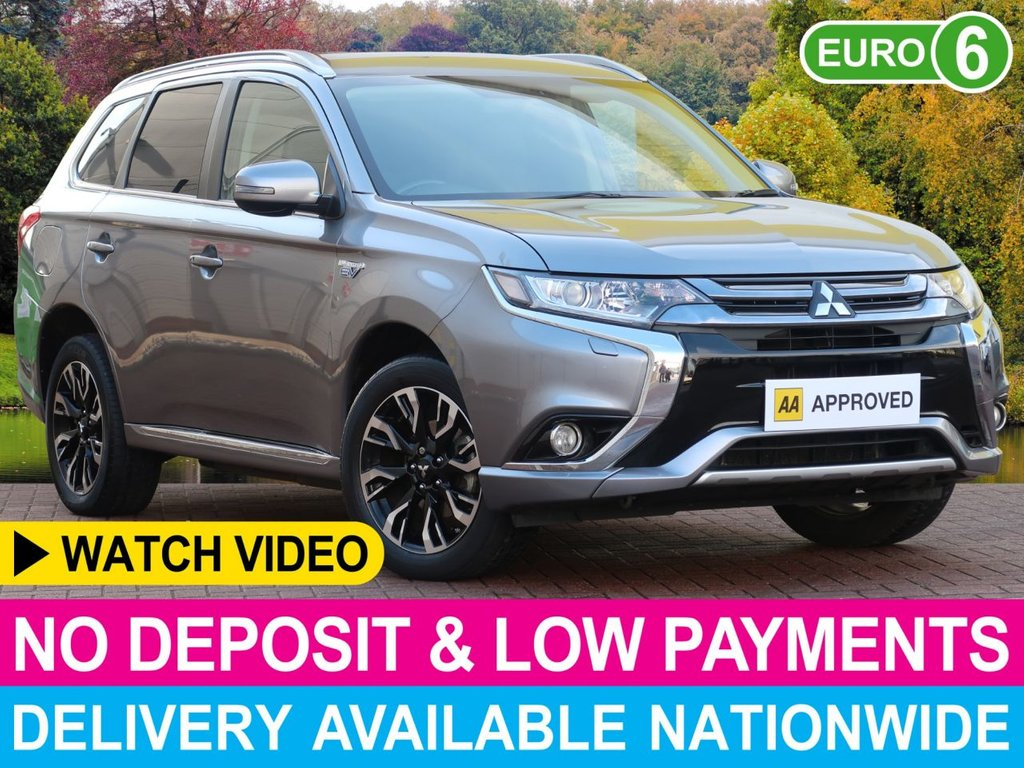 USED 2018 67 MITSUBISHI OUTLANDER 2.200 PHEV JURO 4WD HYBRID COMMERCIAL 5DR 166 MPG COMBINED REVERSE CAM