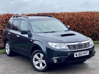 USED 2010 60 SUBARU FORESTER 2.0 D XC 5d FULL SERVICE HISTORY * HEATED FRONT SEATS * REAR PARKING SENSORS