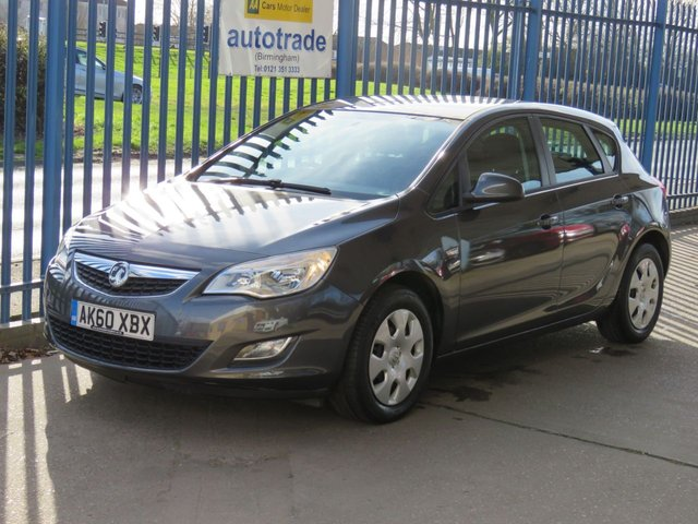 USED 2010 60 VAUXHALL ASTRA 1.4 EXCLUSIV 5dr Air con Cruise control Front fogs Finance arranged Part exchange available Open 7 days