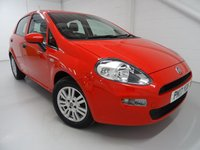 USED 2017 17 FIAT PUNTO 1.2 POP PLUS 5d 69 BHP