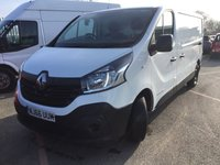 2017 RENAULT TRAFIC 1.6 LL29 BUSINESS ENERGY DCI 125 BHP £8295.00