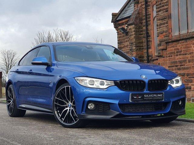 2016 66 BMW 4 SERIES 2.0 420D XDRIVE M SPORT GRAN COUPE 4d 188 BHP [M PERFORMANCE]