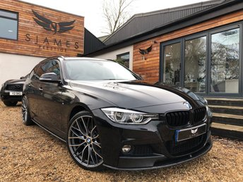 2017 BMW 3 SERIES 3.0 335D XDRIVE M SPORT TOURING 5d AUTO 308 BHP £22490.00