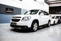 2012 CHEVROLET ORLANDO 2.0 LTZ VCDI 5d 163 BHP £7491.00