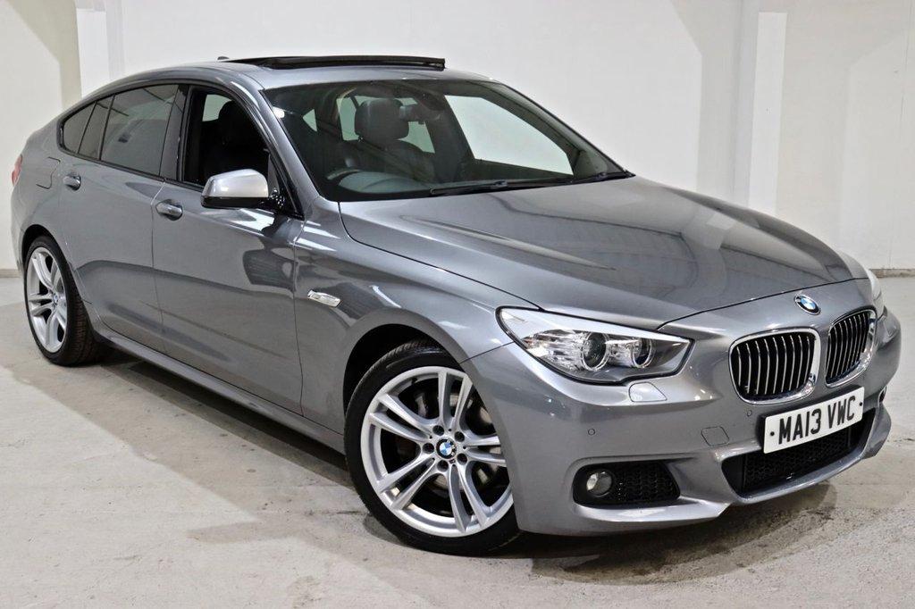 USED 2013 13 BMW 5 SERIES 2.0 520D M SPORT GRAN TURISMO 5d 181 BHP