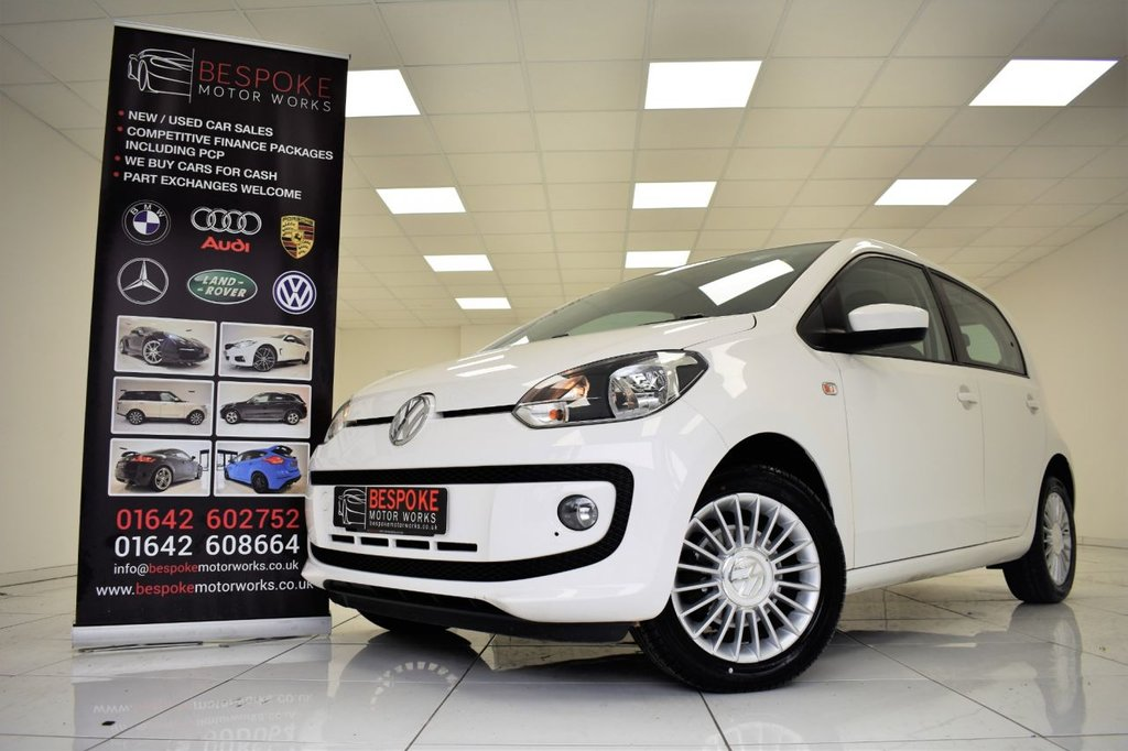 USED 2014 14 VOLKSWAGEN UP 1.0 HIGH UP 5 DOOR 75 BHP
