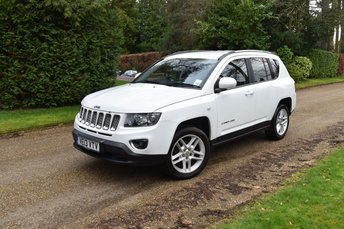2013 JEEP COMPASS 2.4 LIMITED 5d 168 BHP £7495.00