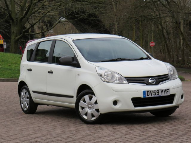USED 2009 59 NISSAN NOTE 1.4 VISIA 5d 88 BHP