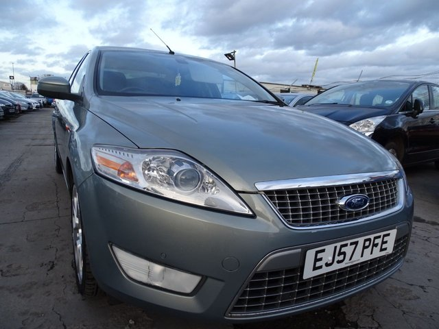 USED 2007 57 FORD MONDEO 2.5 TITANIUM X TURBO 4d 218 BHP GOOD SERVICE