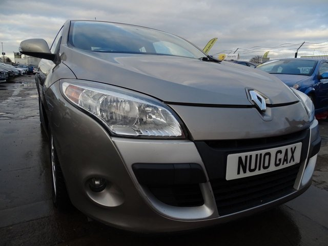 USED 2010 10 RENAULT MEGANE 1.6 EXPRESSION VVT 2d 110 BHP CHEAP TAX