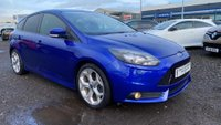 USED 2013 63 FORD FOCUS 2.0 T ST-3 5dr 1YR MOT+FSH+LEATHER+BEST VALUE
