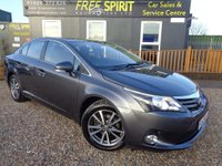 2012 TOYOTA AVENSIS 1.8 TR M-Drive S 4dr £7500.00