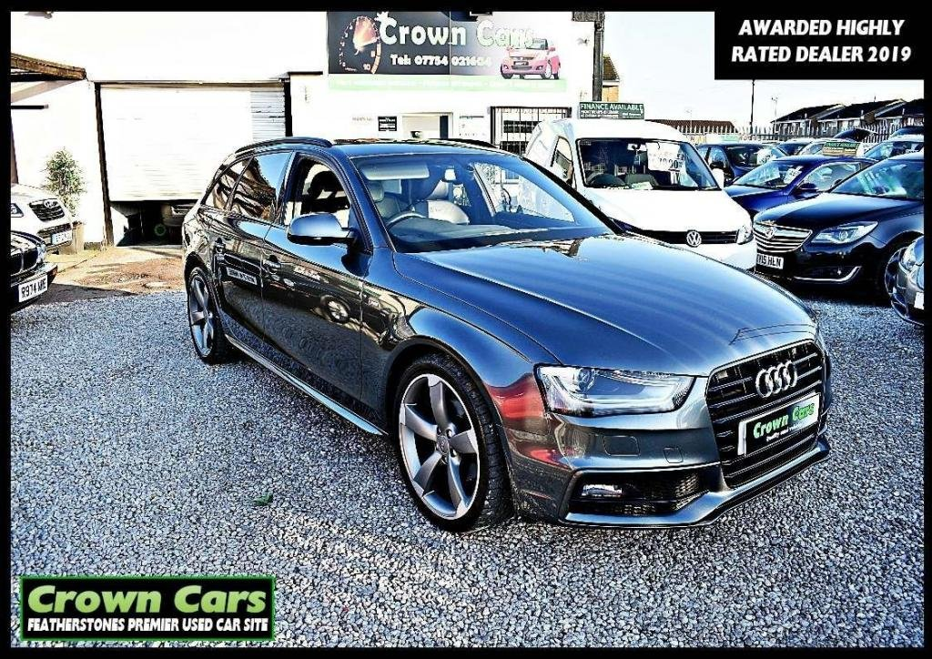 USED 2014 64 AUDI A4 2.0 TDI Black Edition Avant 5dr RESERVE TODAY VIEW LATER