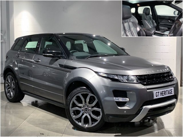2011 11 LAND ROVER RANGE ROVER EVOQUE 2.0 SI4 DYNAMIC [HUGE SPEC INC PAN]