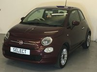 USED 2016 65 FIAT 500 1.2 POP STAR 3d 69 BHP DUE IN -ring for more details