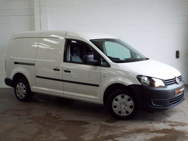 2013 63 VOLKSWAGEN CADDY MAXI 1.6 C20 TDI STARTLINE BLUEMOTION TECHNOLOGY 101 BHP NO VAT SAT NAV+ CRUISE CONTROL