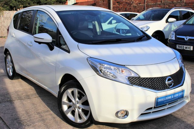 USED 2014 14 NISSAN NOTE 1.2 TEKNA DIG-S 5d 98 BHP **** ONE OWNER * FULL SERVICE HISTORY * ZERO ROAD TAX *  65.7 MPG * SAT NAV * REVERSE CAMERA * BLUETOOTH ****