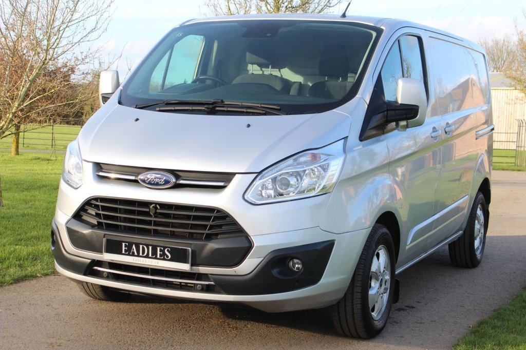 USED 2017 67 FORD TRANSIT CUSTOM 2.0 290 LIMITED LR P/V 129 BHP Manufactures warranty - euro 6 -