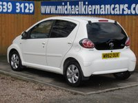 USED 2012 62 TOYOTA AYGO 1.0 VVT-I FIRE AC 5d 67 BHP FSH, AIR CON, AUX INPUT