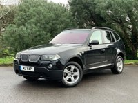 USED 2007 M BMW X3 2.5 D SE 5d 215 BHP LOW MILES, NAVIGATION, HEATED LEATHER, PANORAMIC ROOF, AUTOMATIC, EXCEPTIONAL EXAMPLE PX WELCOME, FINANCE AVAILABLE
