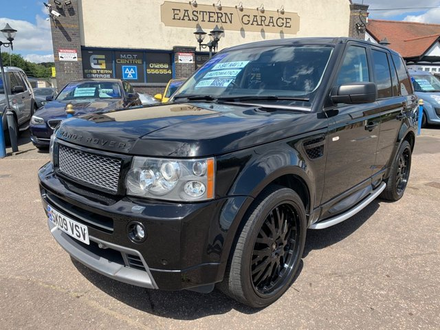 USED 2009 09 LAND ROVER RANGE ROVER SPORT 2.7 TDV6 STORMER EDITION 5d 188 BHP