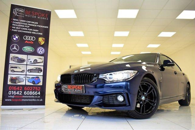 2017 66 BMW 4 SERIES 420D M SPORT GRAN COUPE