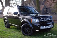 USED 2013 63 LAND ROVER DISCOVERY 4 3.0 SDV6 HSE LUXURY AUTO  [255 BHP] 7 SEATER