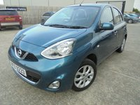USED 2014 NISSAN MICRA 1.2 ACENTA 5d 79 BHP Excellent Condition, FSH, No Deposit Necessary, No Fee Finance Available, Part Ex Welcomed