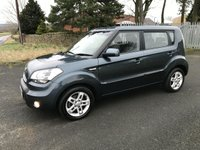 2011 KIA SOUL 1.6 MPV 5 DOOR 2 OWNERS+KIA LAST OWNER 5 YEARS £3495.00