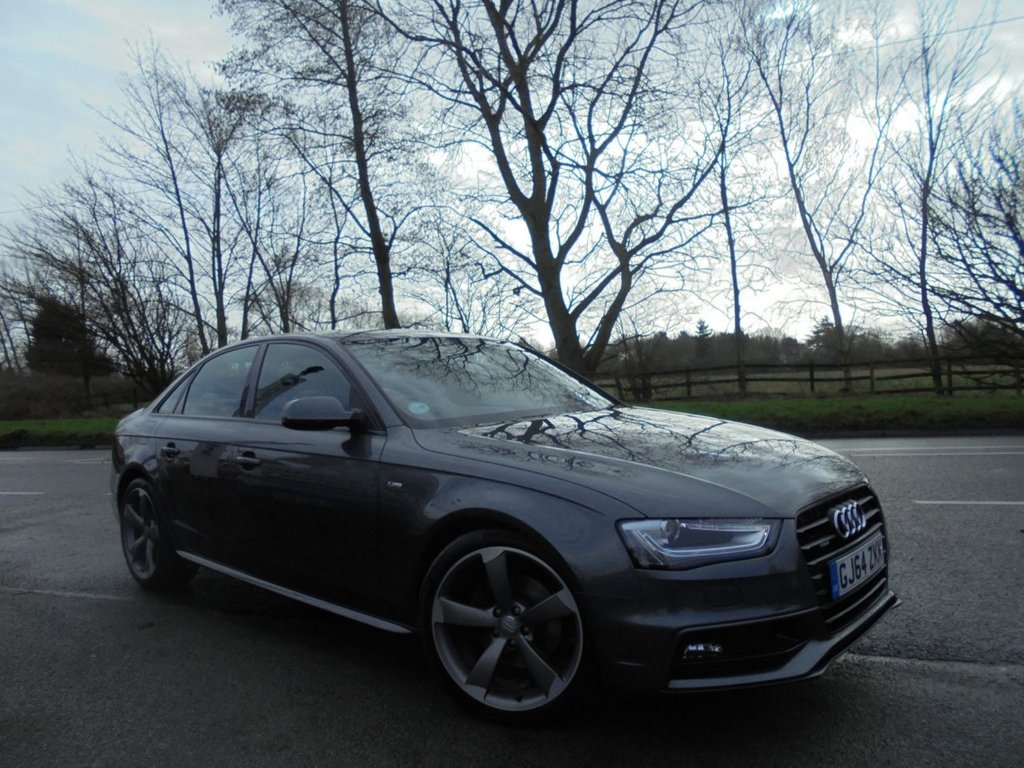 USED 2014 64 AUDI A4 2.0 TDI QUATTRO BLACK EDITION 4d 174 BHP