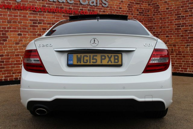 MERCEDES-BENZ C CLASS at Derby Trade Cars