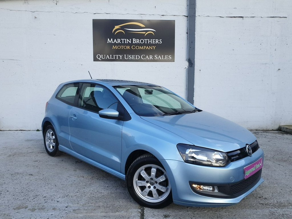 USED 2010 60 VOLKSWAGEN POLO 1.2 BLUEMOTION TDI 3d 74 BHP