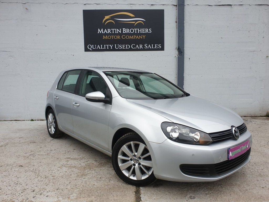 USED 2012 12 VOLKSWAGEN GOLF 1.6 MATCH TDI 5d 103 BHP
