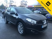 2012 NISSAN QASHQAI 1.5 TEKNA DCI  5d 110 BHP IN METALLIC BLACK WITH 94,000 MILES AND A SERVICE HISTORY! £5399.00