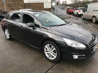 2013 PEUGEOT 508 2.0 HDI SW ACTIVE 5d 140 BHP SOLD
