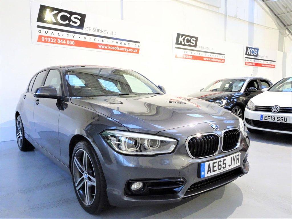 USED 2015 65 BMW 1 SERIES 2.0 120D XDRIVE SPORT 5d 188 BHP 4WD / PRO NAV / 7K EXTRAS