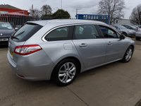 USED 2011 61 PEUGEOT 508 2.0 HDI SW ACTIVE 5d 140 BHP NEW MOT, SERVICE & WARRANTY