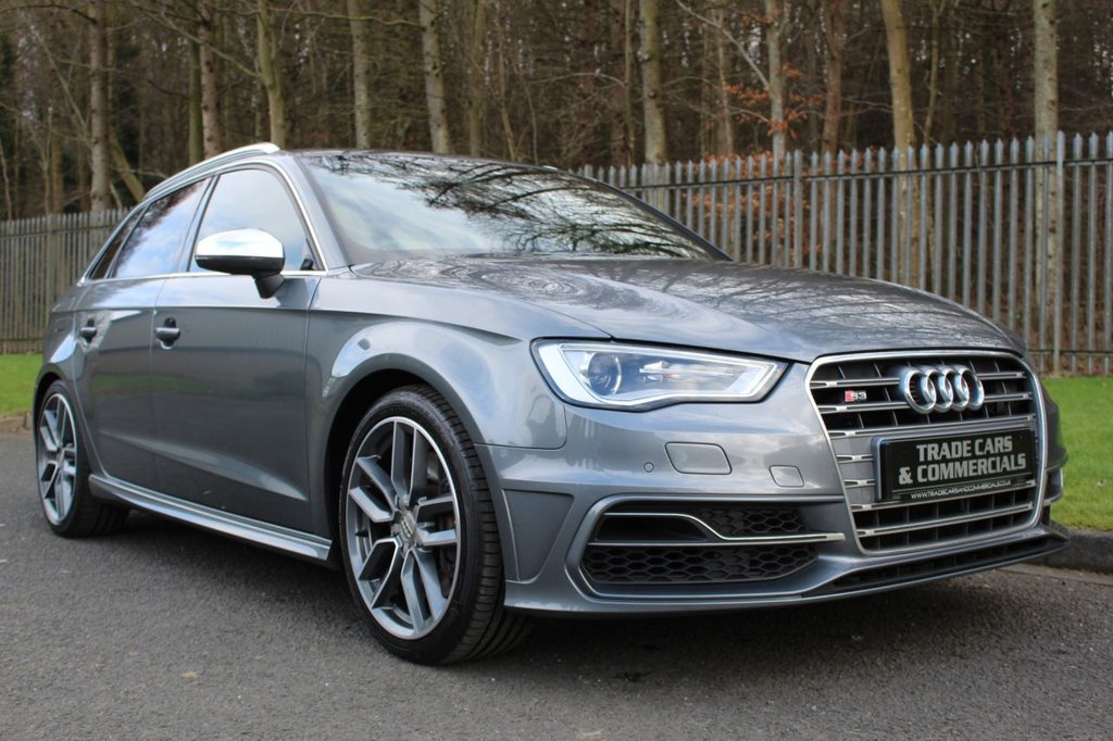 USED 2014 14 AUDI A3 2.0 S3 SPORTBACK QUATTRO 5d 296 BHP A STUNNING LOW OWNER CAR IN GREAT CONDITION WITH SERVICE HISTORY!!!