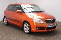 USED 2009 59 SKODA FABIA 1.6 SPORT 16V 5DR 103 BHP FULL SERVICE HISTORY + AIR CONDITIONING + RADIO/CD/AUX + PRIVACY GLASS + ELECTRIC WINDOWS + ELECTRIC/HEATED DOOR MIRRORS + 16 INCH ALLOY WHEELS